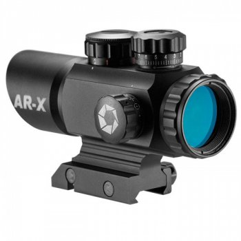 Приціл приціл Barska Multi Reticle AR-X 1x35 (Picatinny)