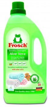 Концентрированное жидкое средство Frosch для стирки Алоэ Вера 1.5 л (4001499159510)