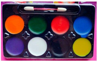 Краска для лица Seta Decor 11-196 6 цветов Разноцветный (2000036591013)