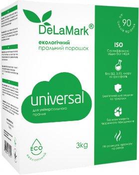 Экологический концентрированный бесфосфатный стиральный порошок Delamark Universal 3 кг (4820152331601)