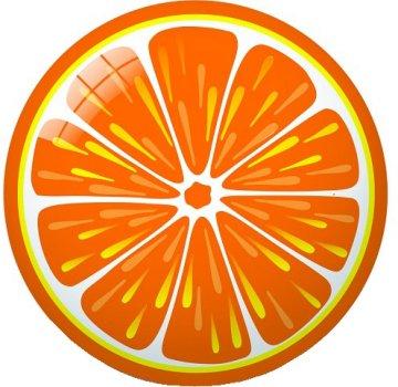 М'яч Star Апельсин 23 см (5202522129442)