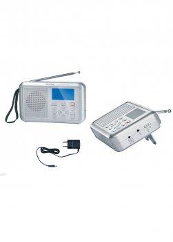 Радіоприймач Silver Crest 17х11,5 см Сірий 000094941