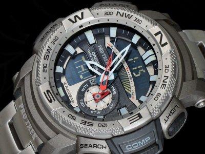 Чоловічі годинники CASIO PRG-280D-7ER