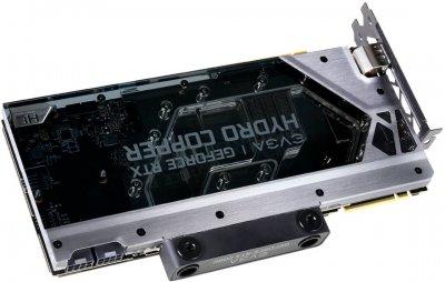 EVGA PCI-Ex GeForce RTX 2080 FTW3 Ultra Hydro Copper Gaming 8GB GDDR6 (256bit) (1860/14000) (USB Type-C, HDMI, 3 x DisplayPort) (08G-P4-2289-KR)