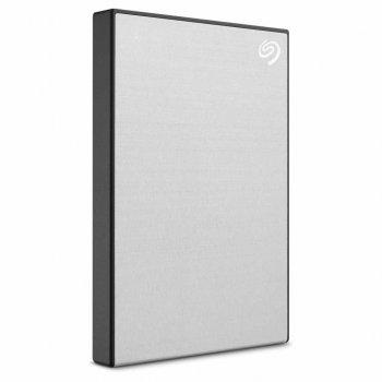Зовнішній жорсткий диск 2Tb Seagate Backup Plus Slim Silver 2.5' USB 3.0 (STHN2000401)