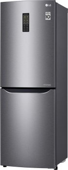Двокамерний холодильник LG GA-B379SLUL