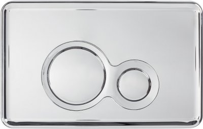 Кнопка Slim&Silent OTTO, хром Cersanit COAB1000570947