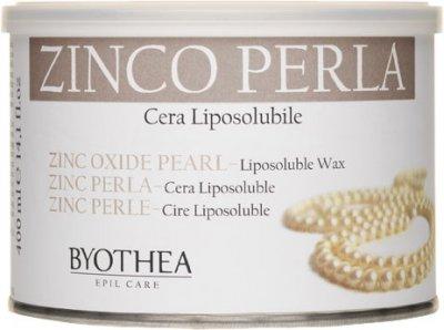 Воск для депиляции Byothea Cera Liposolubile Цинк и перламутр 400 мл (8054377035433)