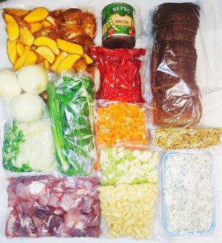 """Набір """"Селянський"""" (овочі 3 кг та свинина 2 кг )"""