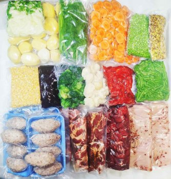 """Набір """"М'ясоїд"""" ( 9 кг овочів + 6 кг м'яса)"""
