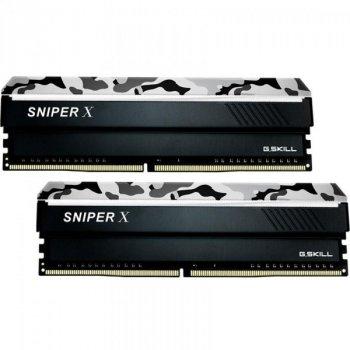 Модуль памяти G.Skill 32 GB (2x16GB) DDR4 3200 MHz Sniper X Urban Camo (F4-3200C16D-32GSXWB) (F00206519)