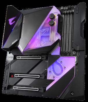 Материнська плата Gigabyte Z490 Aorus Xtreme Waterforce (s1200, Intel Z490, PCI-Ex16)