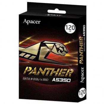 "Накопичувач SSD Apacer AS350 Standard 120GB 2.5"" SATAIII 3D TLC (AP120GAS350-1)"