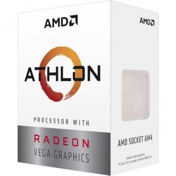 Процесор AMD Athlon 3000G 3.5 ГГц Socket AM4 BOX (YD3000C6FHBOX)