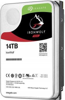 Жесткий диск Seagate IronWolf HDD 14TB 7200rpm 256MB ST14000VN0008 3.5 SATAIII