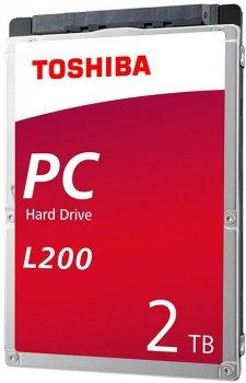 "Жесткий диск Toshiba Mobile L200 2TB 5400rpm 128MB HDWL120UZSVA 2.5"" SATAIII"