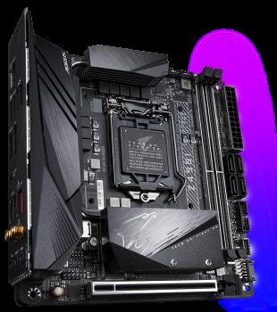 Материнська плата Gigabyte Z490I Aorus Ultra (s1200, Intel Z490, PCI-Ex16)