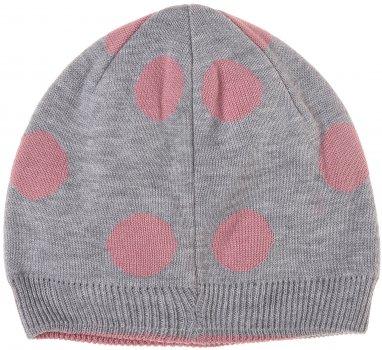 Демисезонная шапка Maximo 83573-864800 49 см Серая (4060109134798)