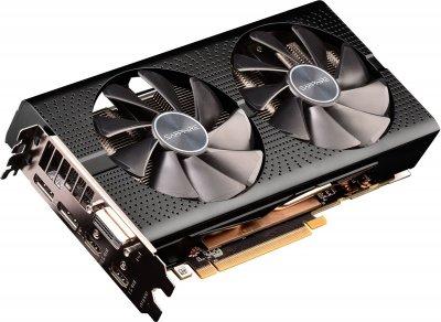 Sapphire PCI-Ex Radeon RX 580 Pulse DUAL 4GB GDDR5 (256bit) (1340/7000) (DVI, HDMI, DisplayPort) (11265-10-20G)