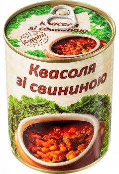 Квасоля зі свининою L'appetit 350 г (4820177070097)