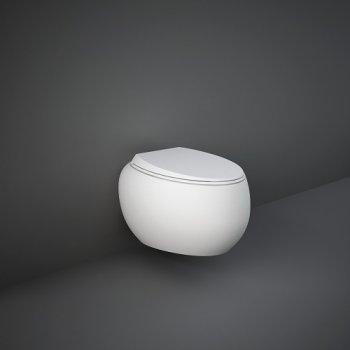 Унитаз подвесной, безободковый, белый матовый CLOWC1446500A CLOUD