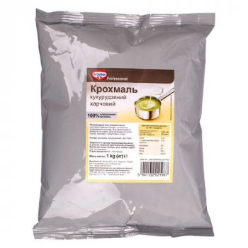 Кукурузный крахмал ТМ Dr.Oetker, 1 кг