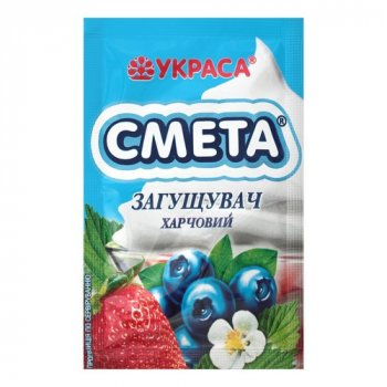 Загуститель пищевой Смета Украса, 12 г
