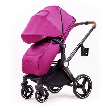 Универсальная коляска 2в1 Ninos Alba Purple фиолетовый