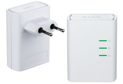 Комплект адаптеров PowerLine AV+ D-Link DHP-309AV