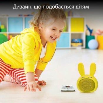 Акустична система Promate Bunny Yellow (bunny.yellow)