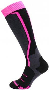 Носки Blizzard 164018 Черные с пурпурным