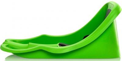 Зимові санки Plastkon Бембі Райдер Зелені (8595096967204)