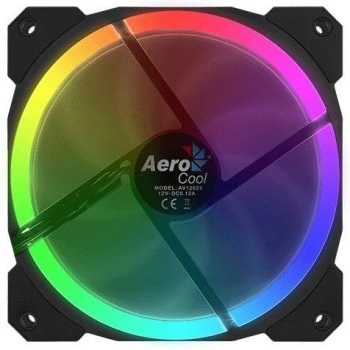 Кулер Aerocool Orbit 120 мм RGB LED Retail (Orbit120mmRGB)
