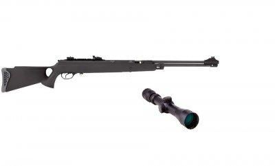 Пневматическая винтовка Hatsan 150TH Torpedo с усиленной газовой пружиной прицел 3-9×40 Sniper AR