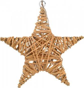 Елочная игрушка Новогодько (YES! Fun) Звезда 15 см Желтая (973296) (5056137144297)