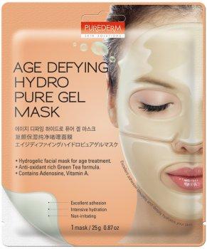 Маска гидрогелевая антивозрастная для лица Purederm Age Defying Hydro Pure Gel Mask 25 г (8809052586966)