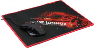 Мышь Bloody V7M71 USB с игровой поверхностью Black (4711421923910)