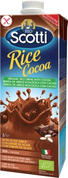Рисовое молоко Riso Scotti органическое с какао 1 л (8001860254888)