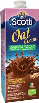 Овсяное молоко Riso Scotti органическое с какао и кальцием 1 л (8001860251320)
