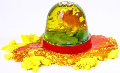 Лизун-антистресс Mr.Bоо Диноленд 100 г в ассортименте + Набор легкого магического пластилина Moon Light Clay 3 (41061)