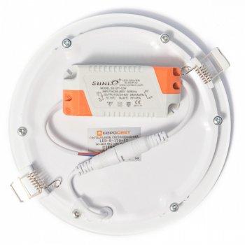 Світильник точковий Евросвет LED-R-170-12 12W 4200К (39180)