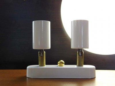 Спот поворотный на 2-лампы SLEEVE-2mini E27 белый