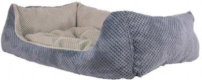 Лежак для кішок і собак Фортнокс FX home Armando Grey 63 х 46 х 15 см Сірий (2820000013378)