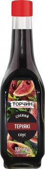 Упаковка соєвого соусу Торчин зі смаком Теріякі 500 мл х 6 шт. (7613038540634)