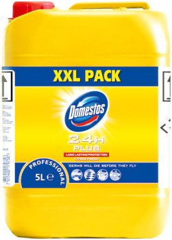 Универсальное моющее средство Domestos Professional с дезинфицирующим эффектом Цитрус 5 л (25489080)