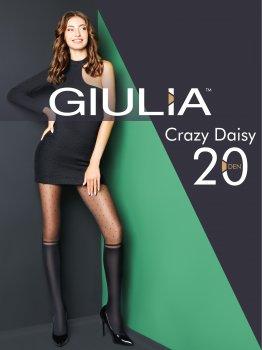 Колготки Giulia Crazy Daisy 20 Den Nero