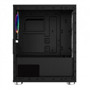 Корпус 1stPlayer R2-R1 Color LED Black без БЖ