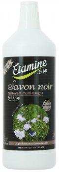 Средство для мытья полов и поверхностей из натурального камня Etamine du Lys Savon Noir 1 л (3538394000094)