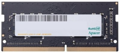 Оперативна пам'ять Apacer SODIMM DDR4-2666 4096MB PC4-21300 (ES.04G2V.KNH)