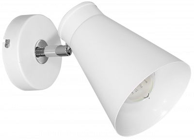 Настінний світильник спот Luminex Bevan Білий (5026)